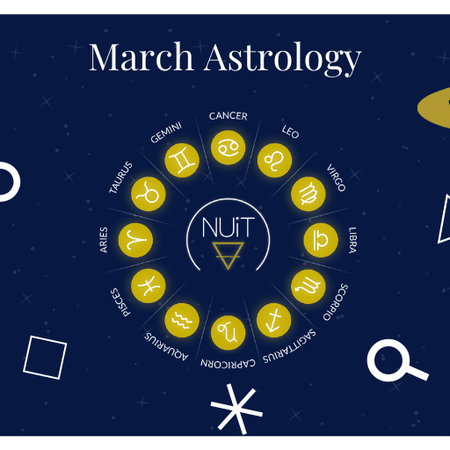 March Planetary Events & Astrology Forecasts from NUiT