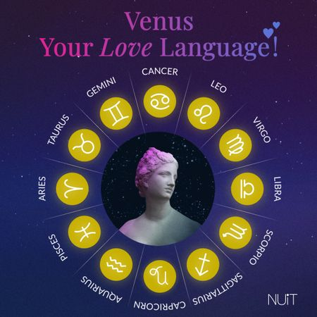 Venus - The ruler of your love life