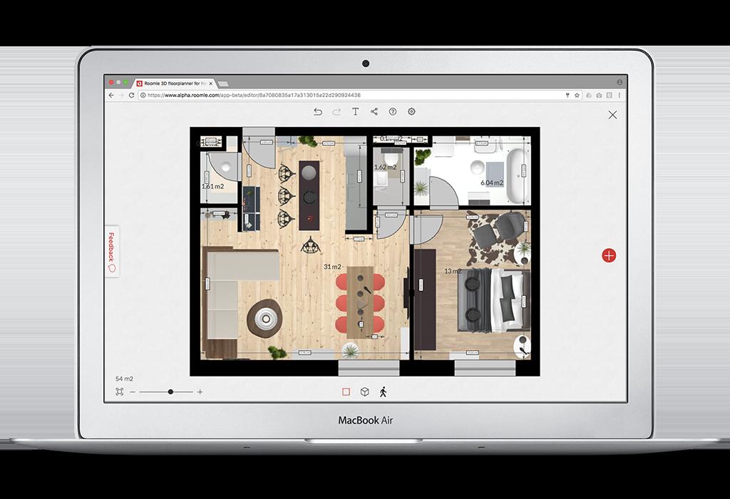 register to create 3d floor plans for free. Black Bedroom Furniture Sets. Home Design Ideas