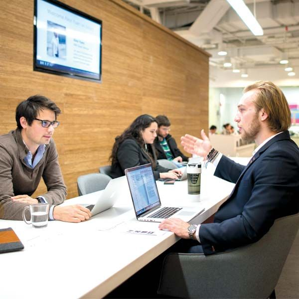 Business School Students Meeting | Hult