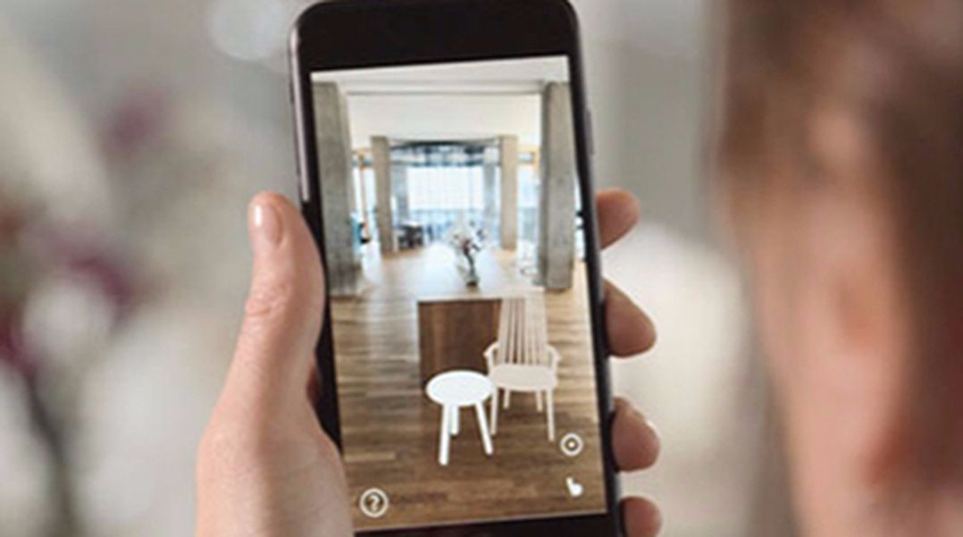 Augmented Reality Furniture Prroduct Visualization Roomle