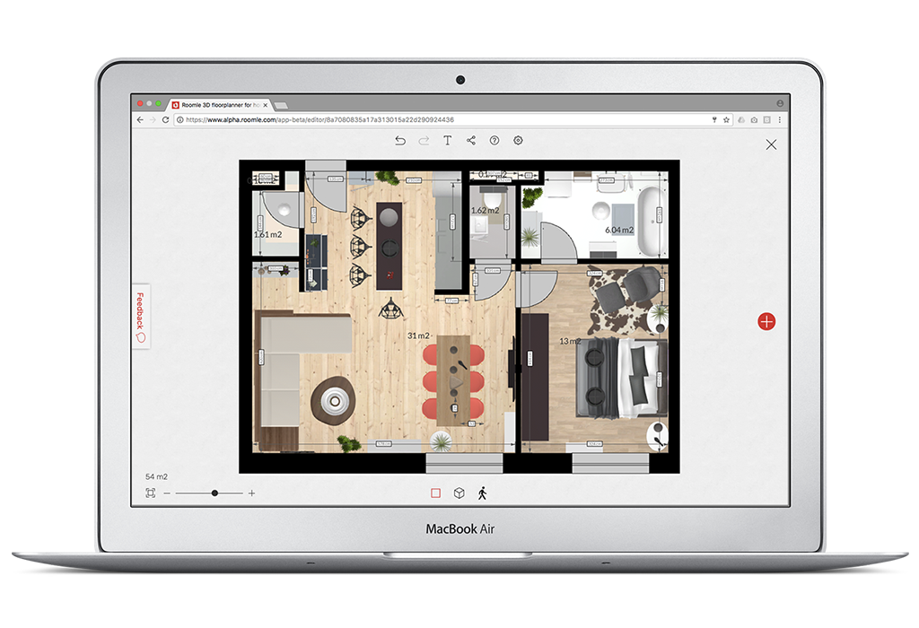 Free And Simple Online 3d Floorplanner Roomle Com