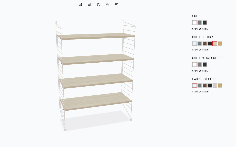 Anspruchsvoll Regal Niedrig Beste Wahl Multi-platform 3d Configurator