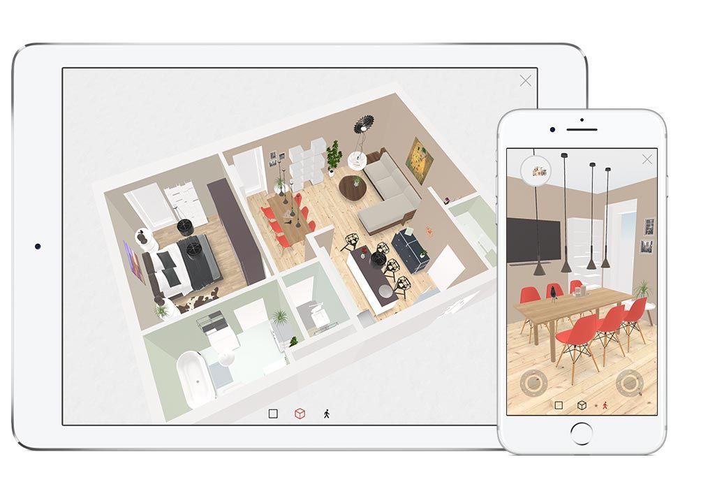 roomle 3d floorplanner for web ios and android - 3d Plan Drawing