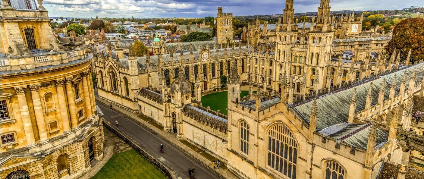 Cambridge: a university with a city around it Oxford: a city with a university in it