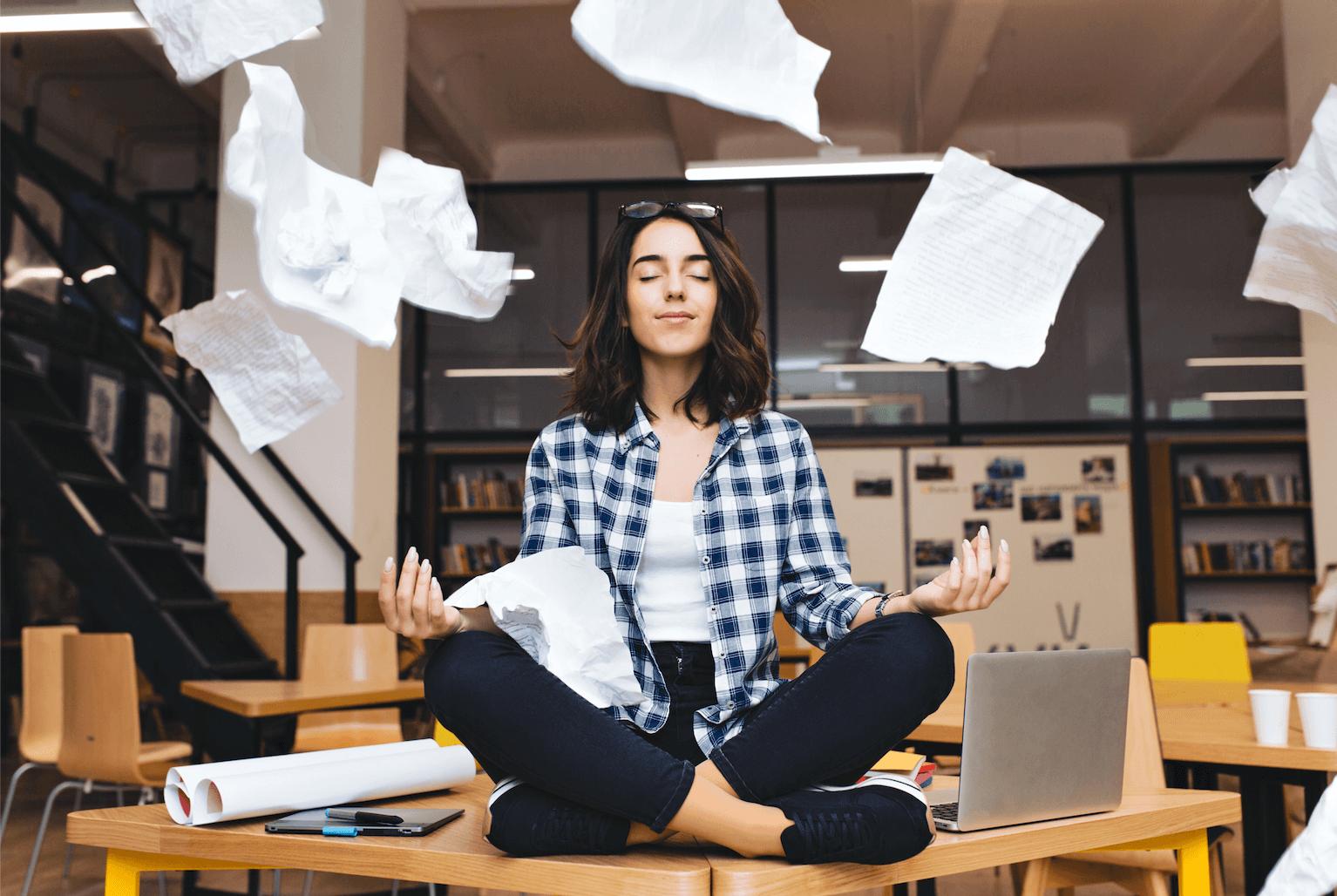 Study Break Meditate Medview