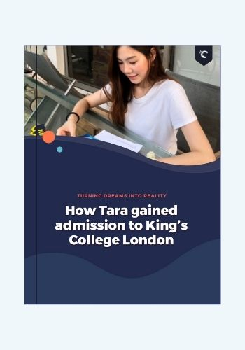 Thai student in King's College London
