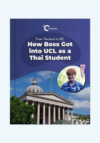 Thai student in University College London