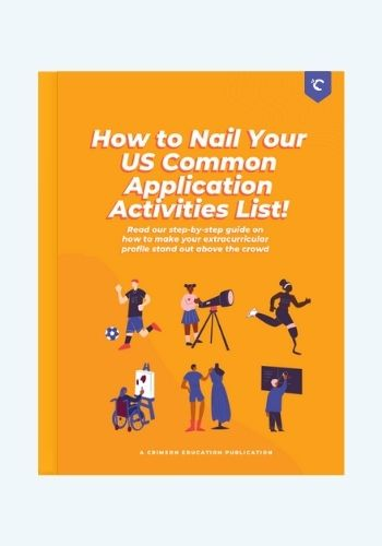 How to Nail your US Common App Activities List eBook