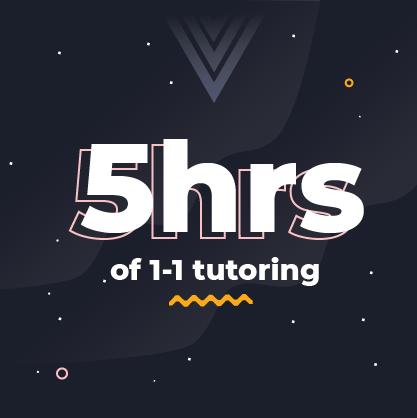 image saying 5hrs of tutoring