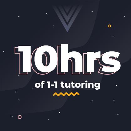 10hrs of tutoring