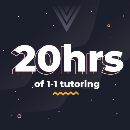 20hrs of tutoring