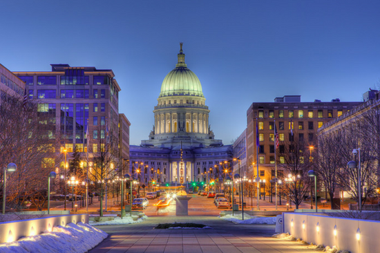 Best College Town Madison Wisconsin