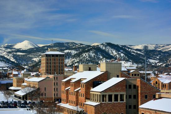 Best College Town Boulder Colorado