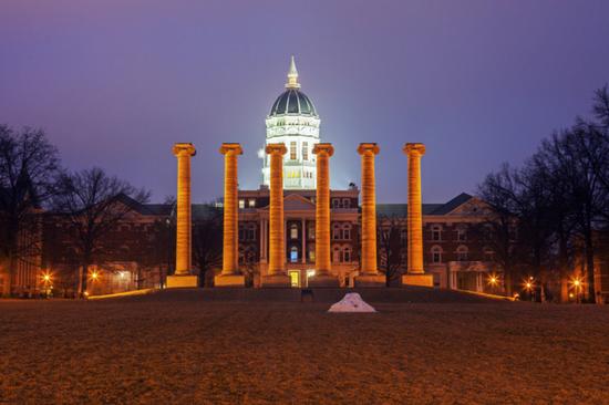 Best College Town Columbia Missouri