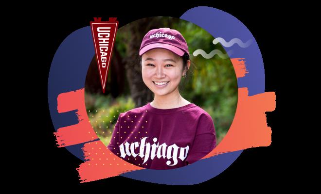 University of Chicago student Annie