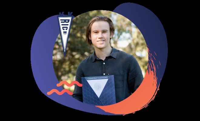Rice University student Oliver