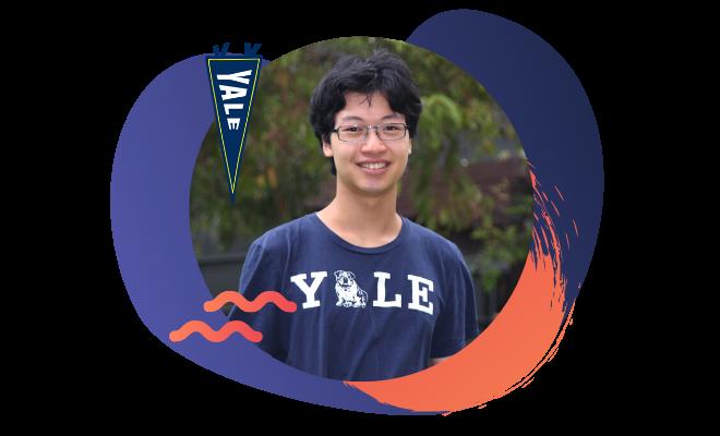 Yale University student Akio