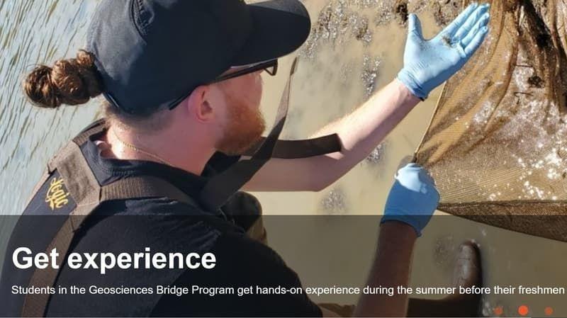 Geosciences Bridge High school Internship Program