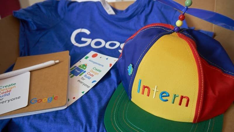 Google internships for high school students
