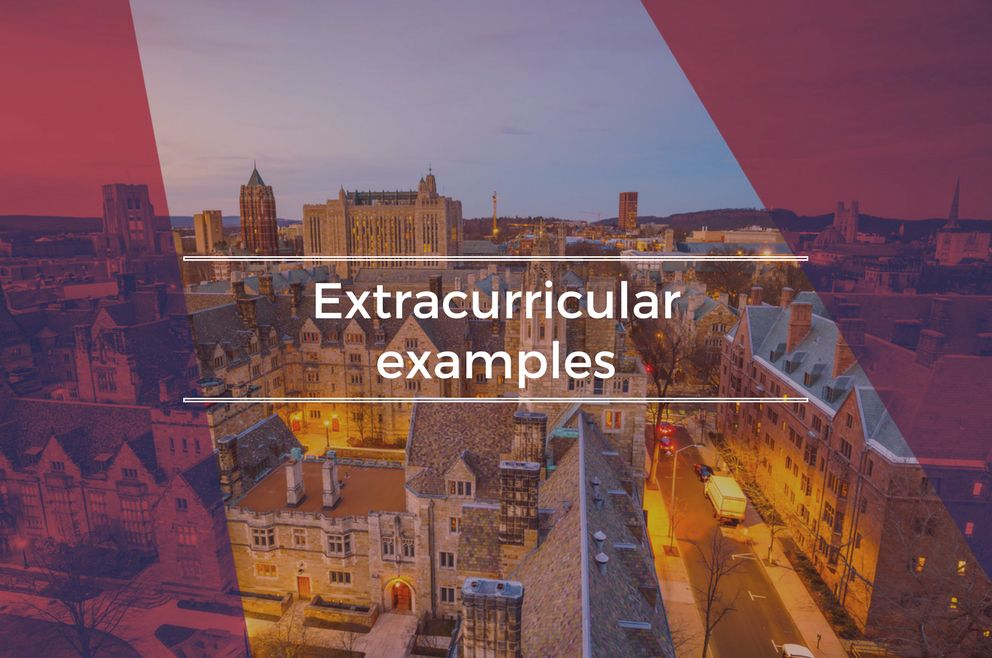 Extracurricular Examples