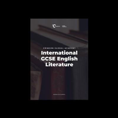 What is International GCSE English Literature?