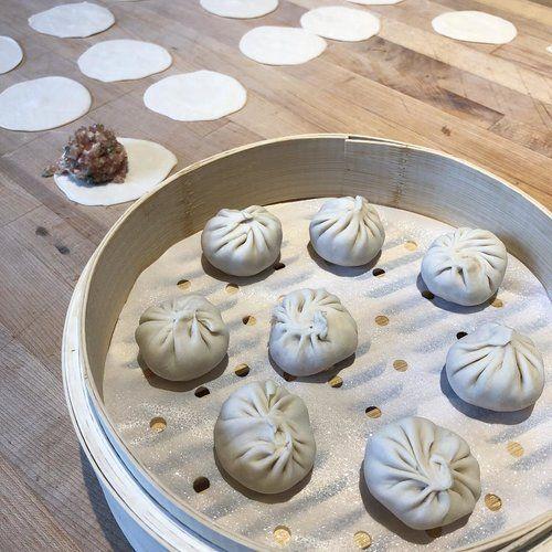 Dumplings at XLB