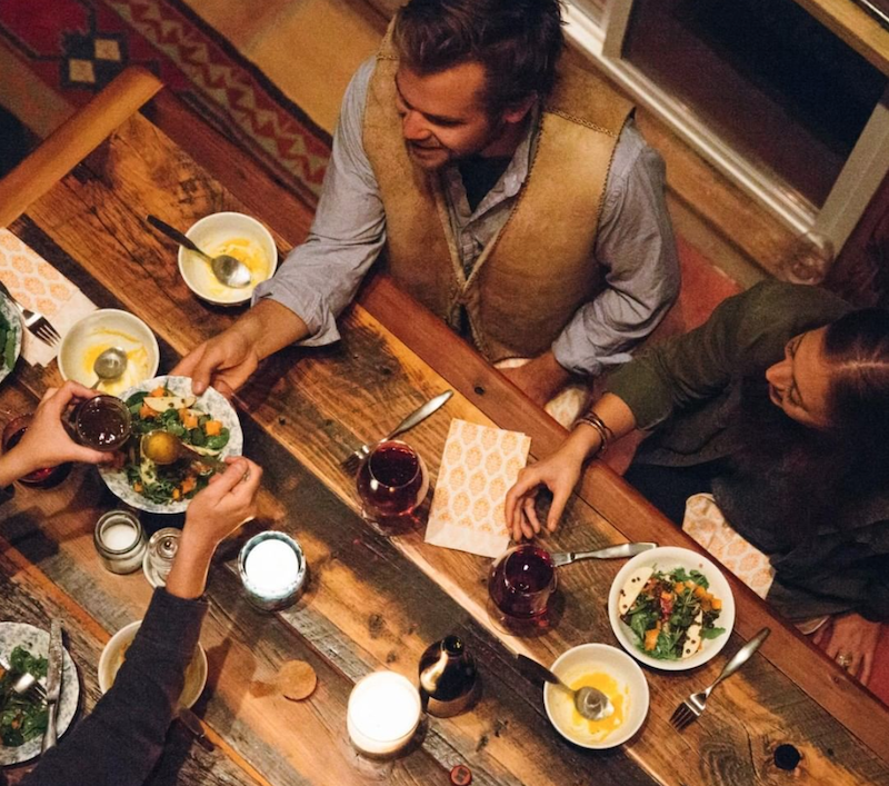 Gathering friends around good food and great wine from Oregon's Union Wine Co.