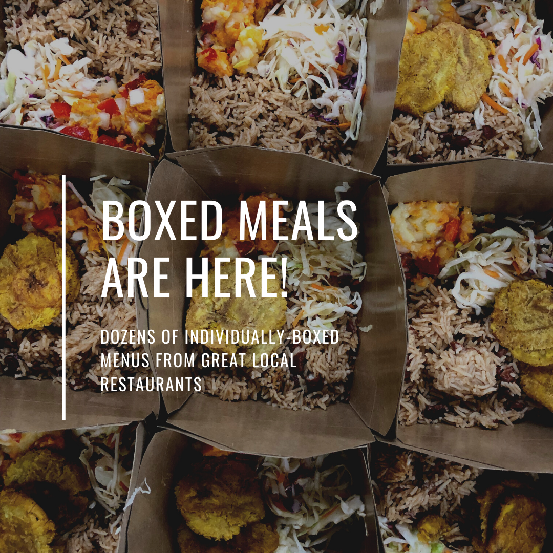 Boxed Meals are Here!