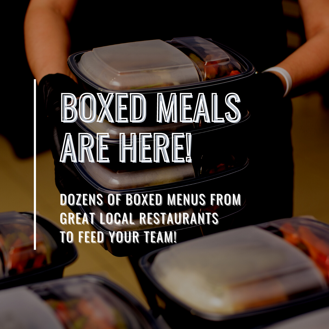 Boxed Meals for Your Team!
