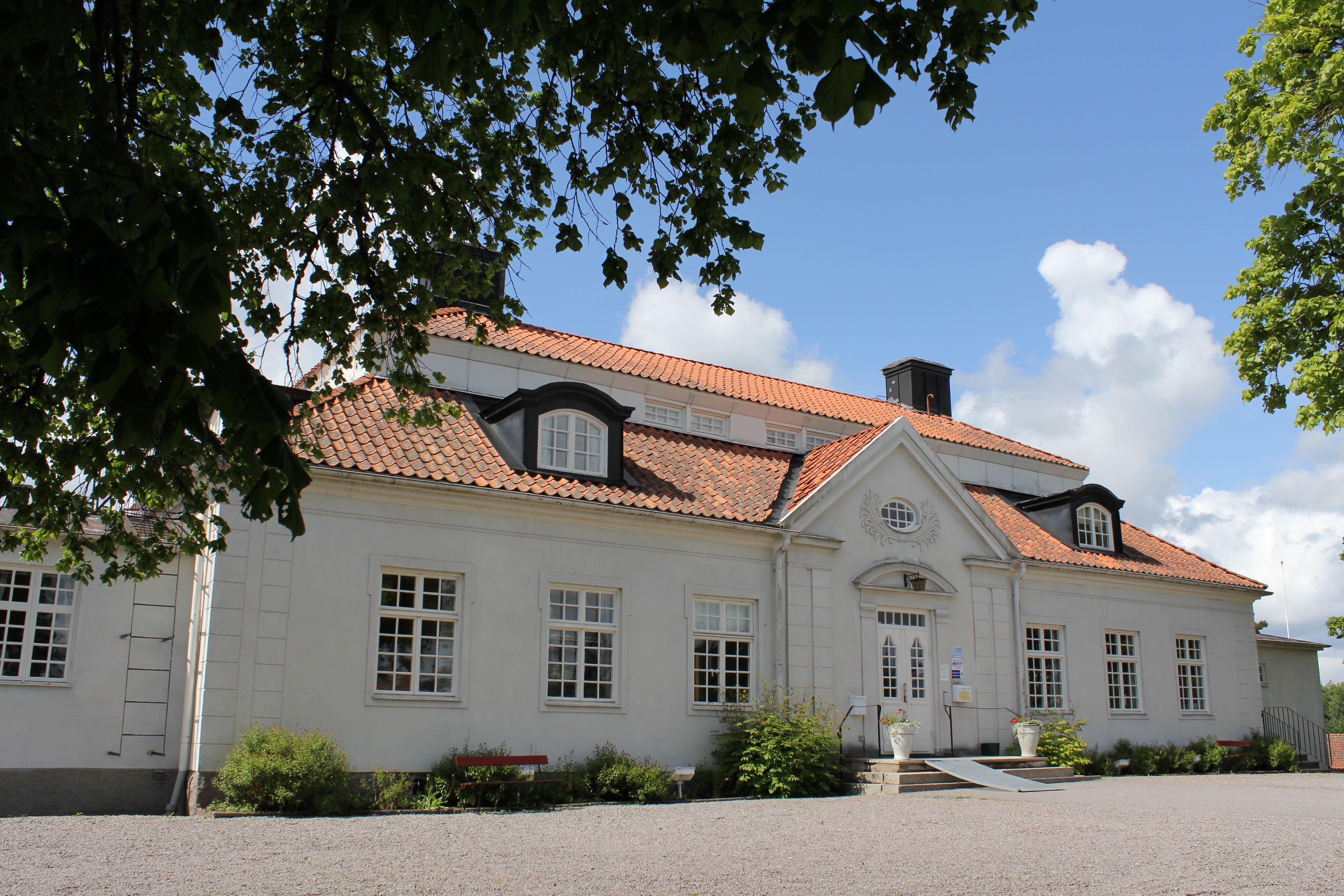 Liljeholmen herrgård pampig byggnad framsida