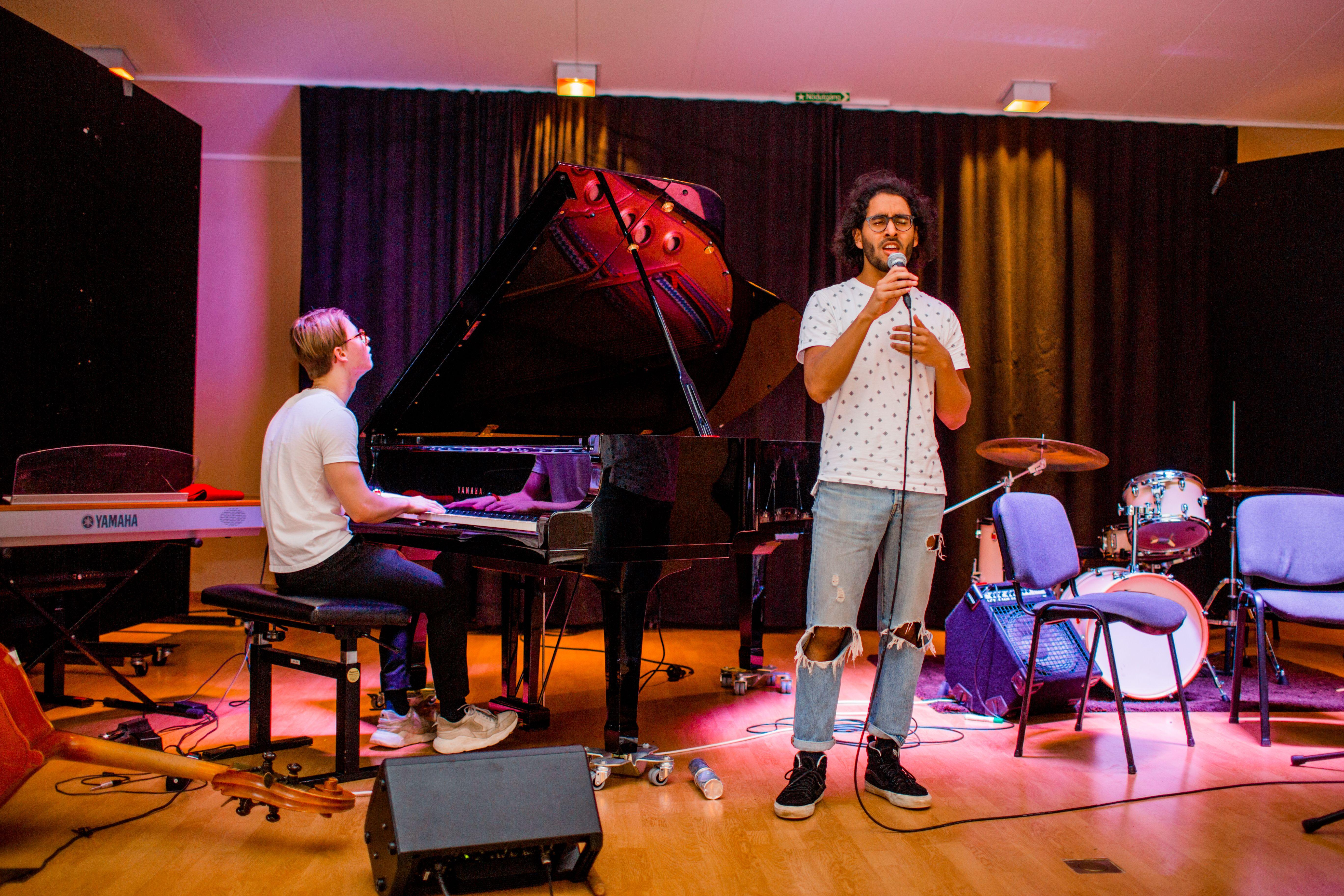 Sång Piano Musiklinjen Liljeholmens folkhögskola