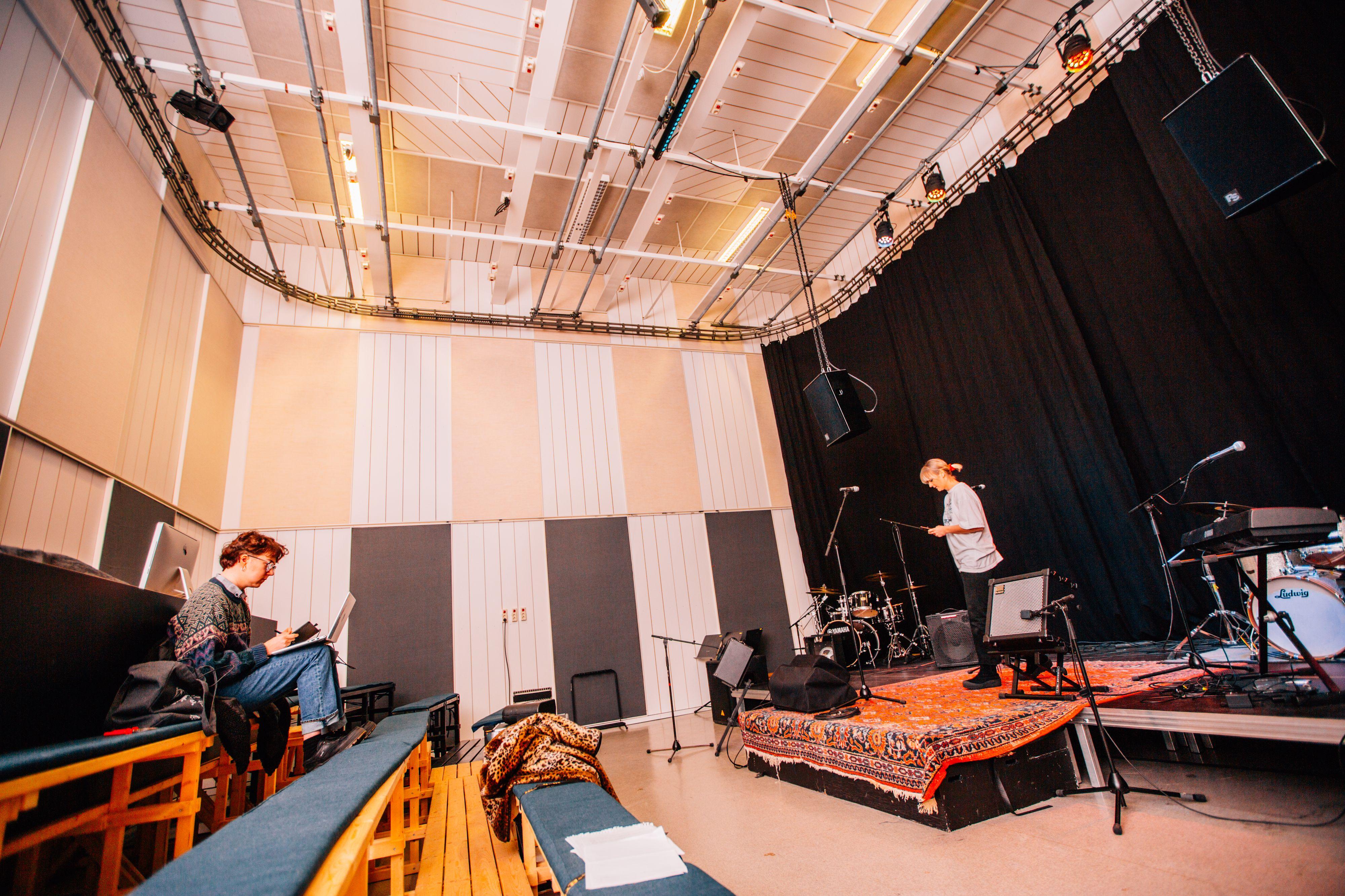 Liljeholmens folkhögskola Studio
