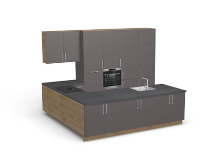 3D Product Haka Kitchen Configurator