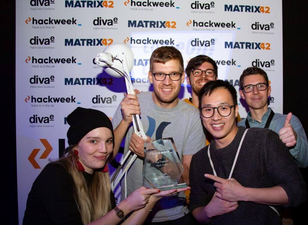 HackWeek 2019: 4 Tage Hackathon Spektakel mit hohem Fun-Faktor!