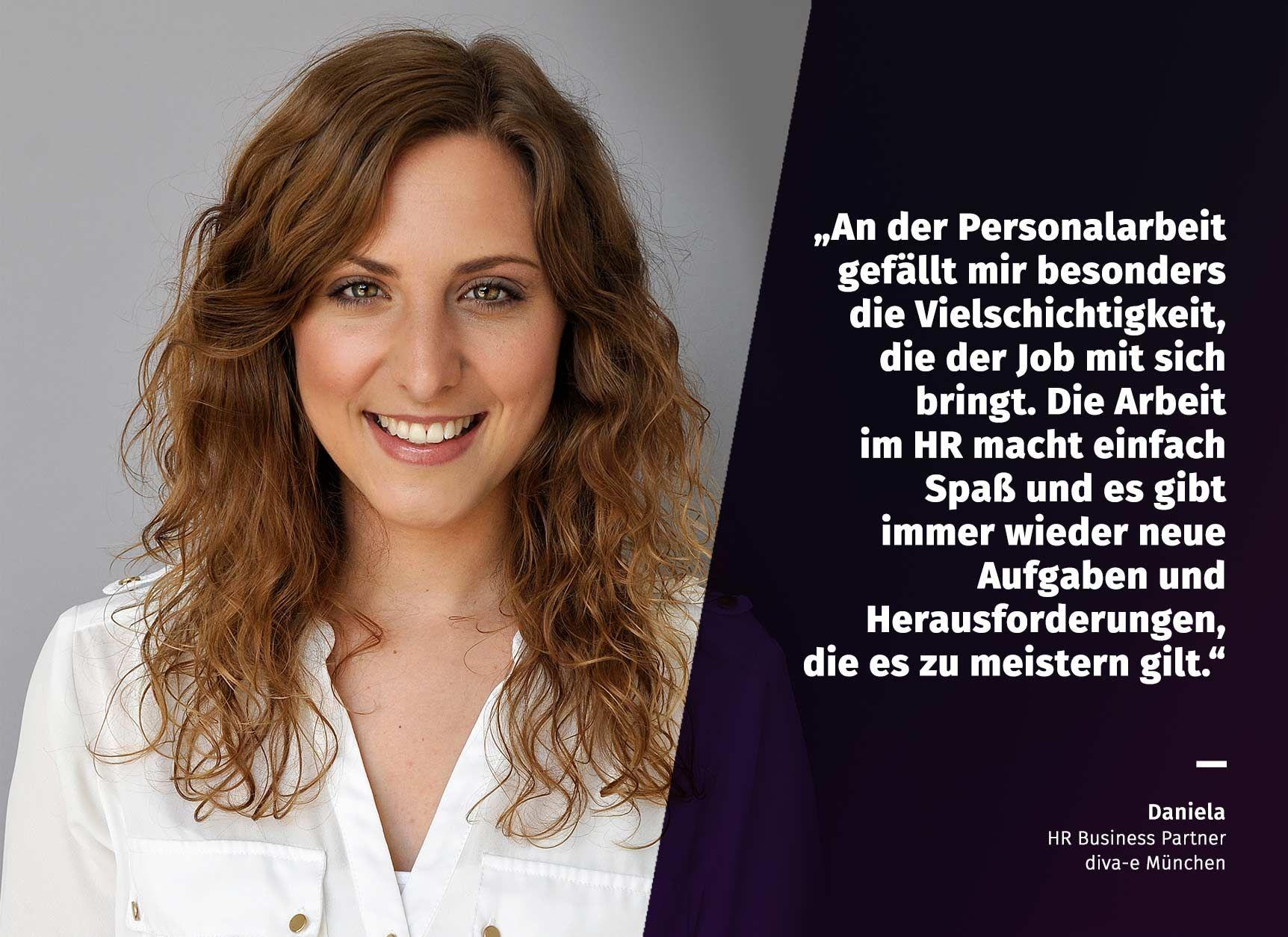 Einblicke in unser HR Team: Daniela, HR Business Partner am Standort München