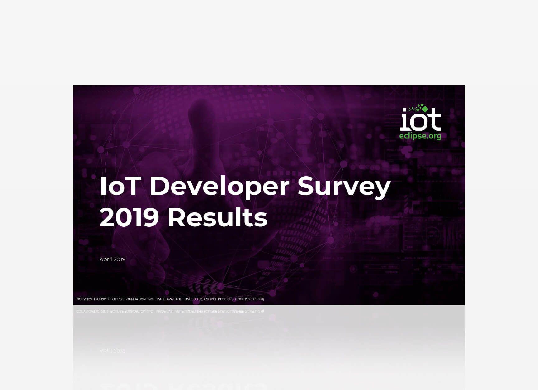 IoT Survey 2019: Anzahl umgesetzter IoT Projekte steigt