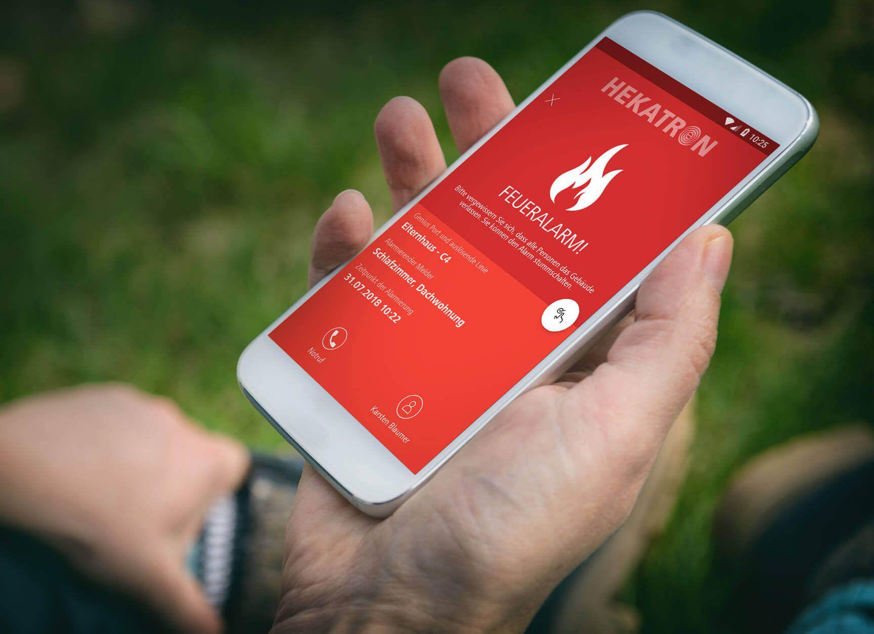 Digitalisierung des Brandschutz bei Hekatron