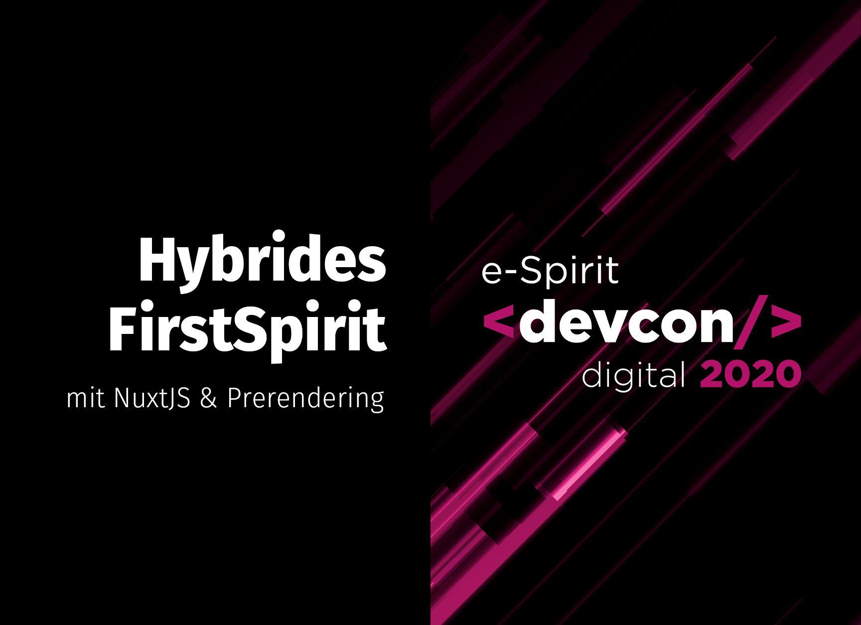 e-Spirit devcon digital 2020: Recap