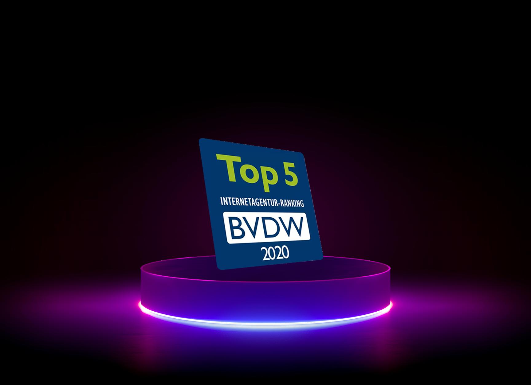 Internetagentur-Ranking 2020: diva-e erneut unter den Top 5