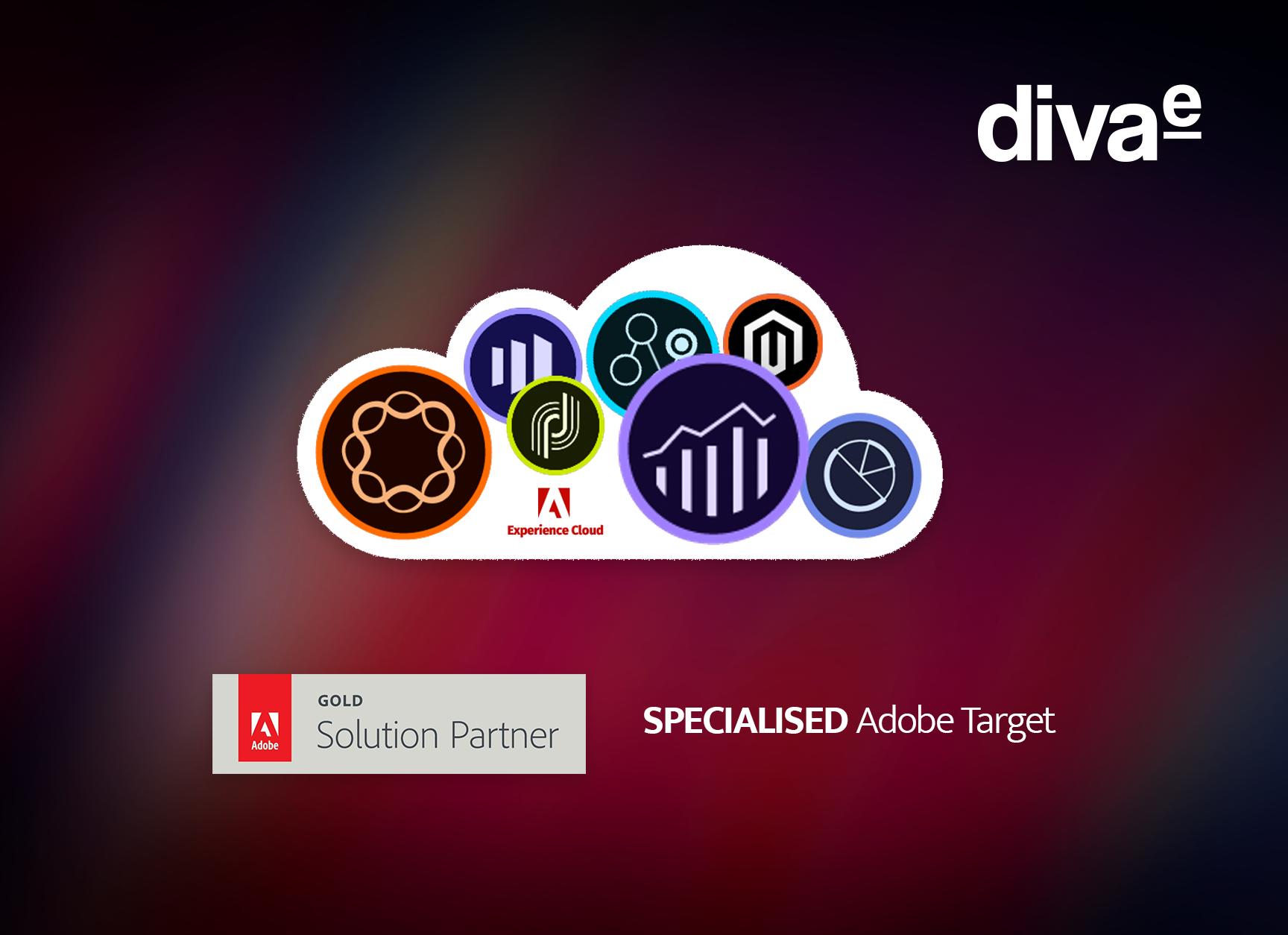 diva-e erhält erstmals Adobe Target Spezialisierung