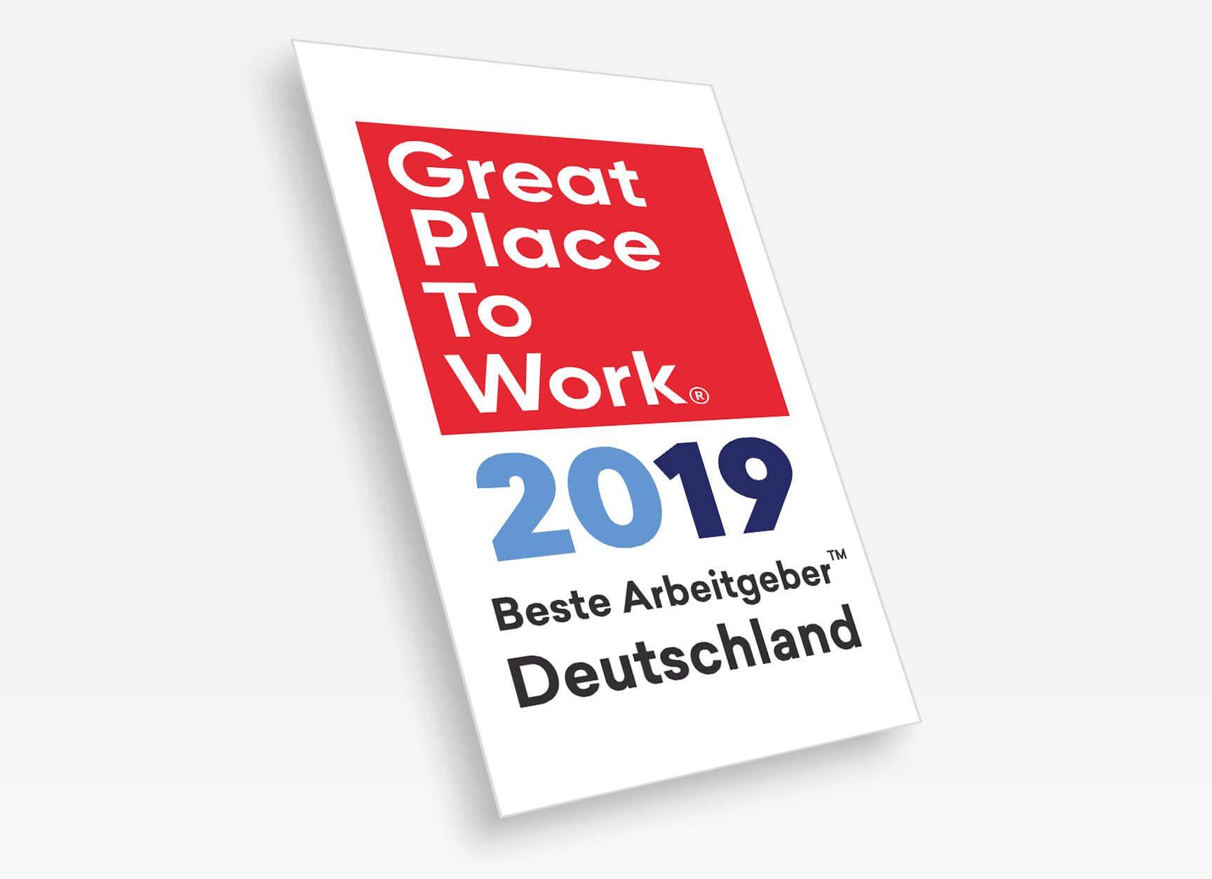 """diva-e erhält Auszeichnung """"Deutschlands Beste Arbeitgeber 2019"""""""
