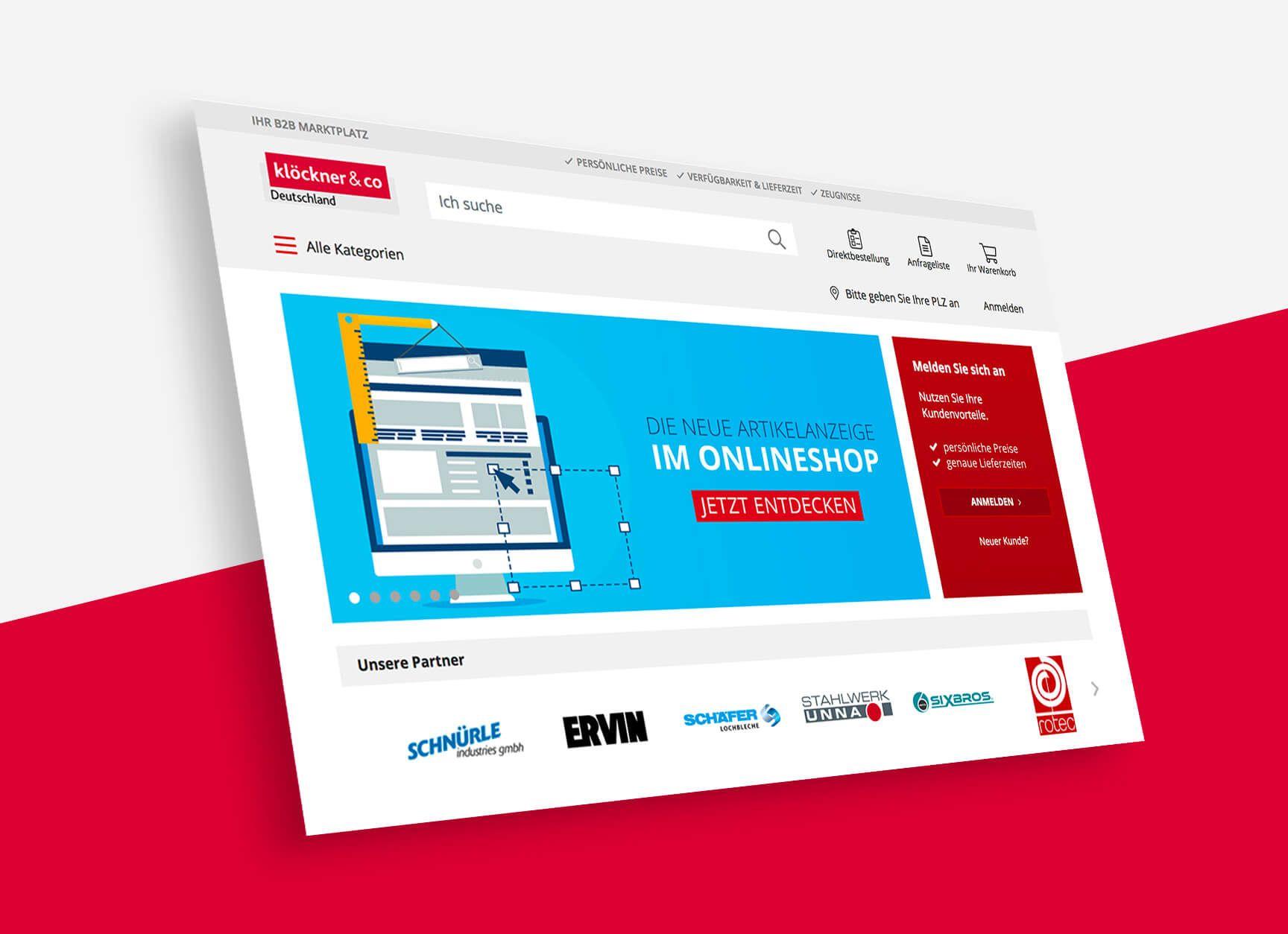 diva-e begleitet Stahlhandelsriese Klöckner bei der Digitalisierung