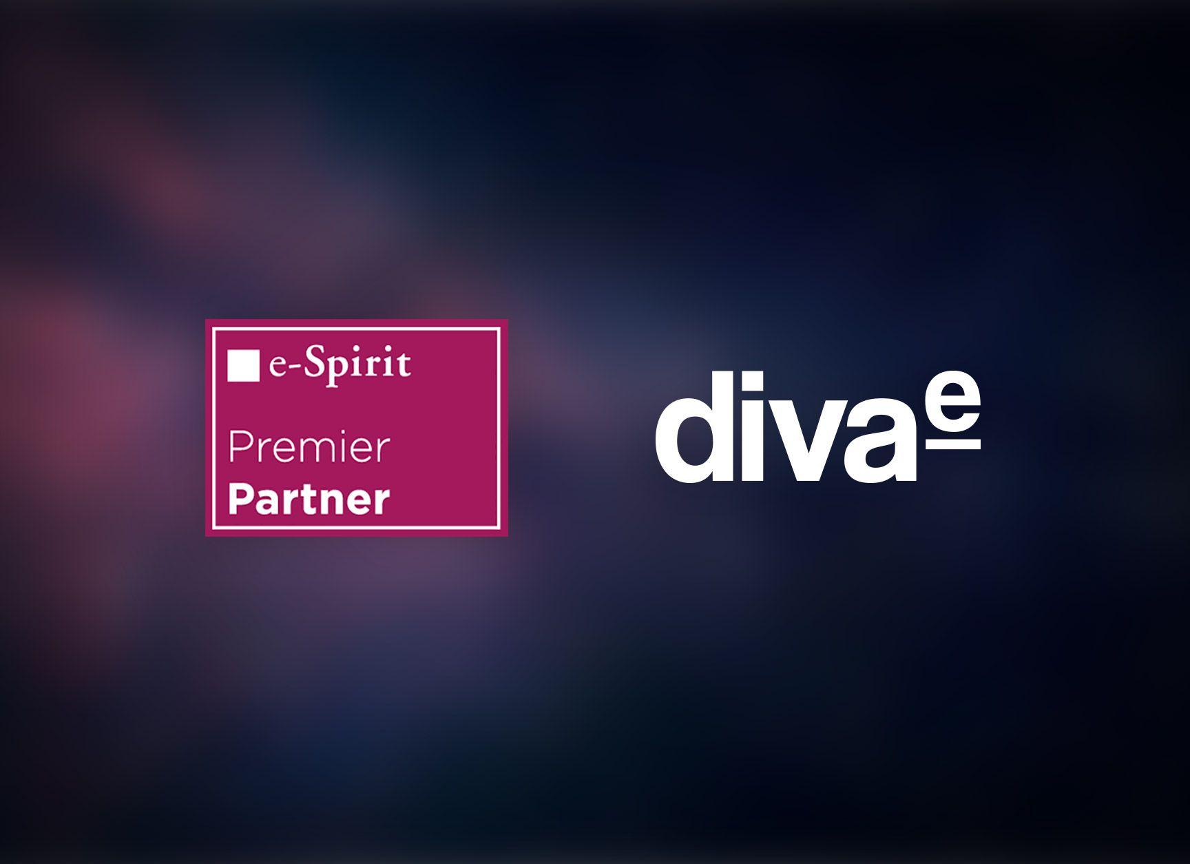 e-Spirit awards highest Premier Partner status to diva-e