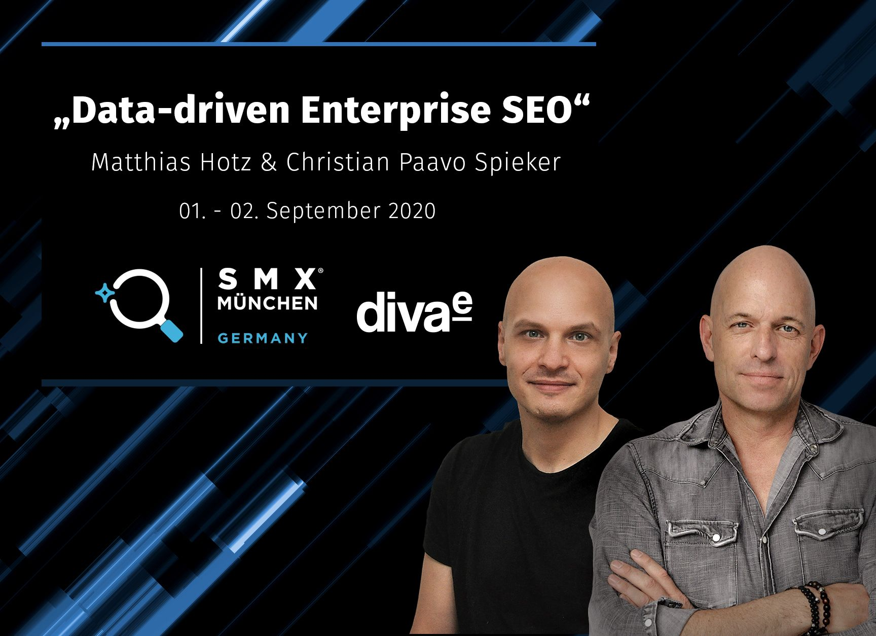 """SMX München: diva-e SEOs über """"Data-driven Enterprise SEO"""""""