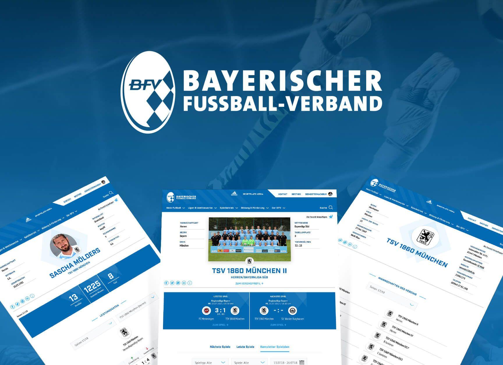 Anstoß zum neuen Digitalauftritt des Bayerischen Fußball-Verbands