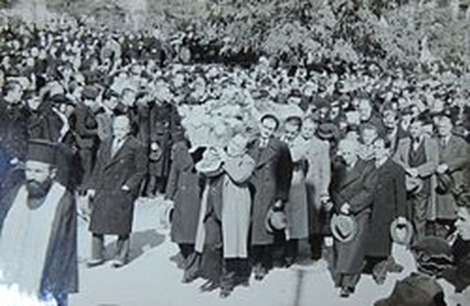 Погребението на Йордан Йовков.