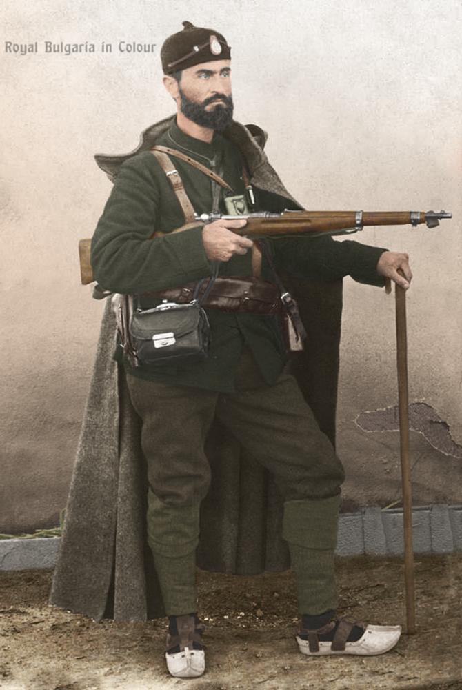 Тодор Александров в четническа униформа