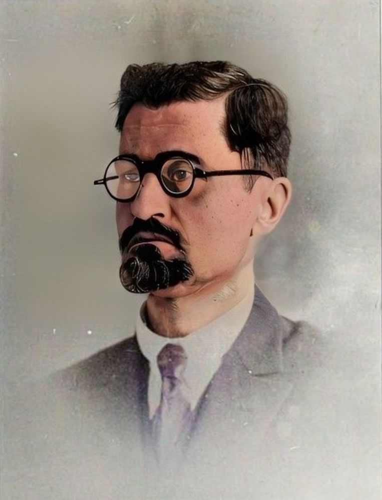 Тодор Александър - вероятно като учител.