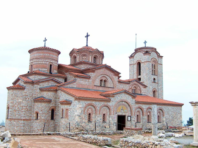"""Храм """"Свети Панталеймон"""", в който според историческите източници Климент Охридски подготвя над 3500 ученици."""